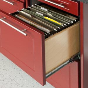TownClose13-Drawer unit Garage Organization