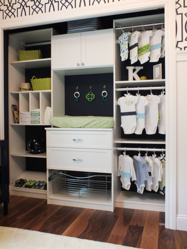 Kimberly White Kids Closet Organizer